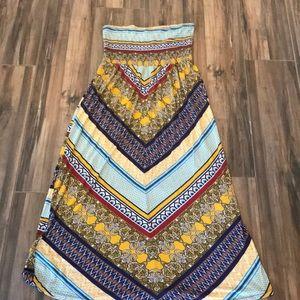 American Rag Halter Maxi Dress L